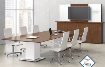 0121   Conference Room Furniture   Standing/Sitting Conference Room Table